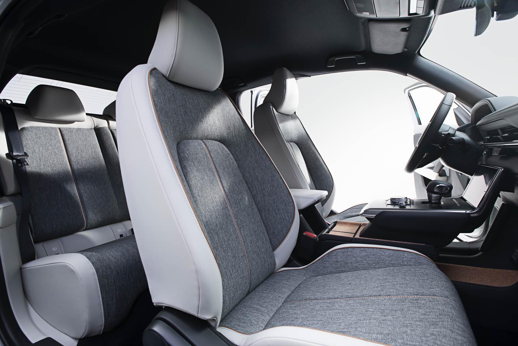 Interiøret i Mazda sin elbil MX-30